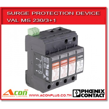 VAL MS 230/3+1 surge protection